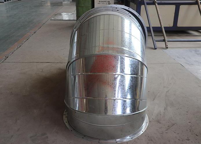 圆弯头风管(图10)