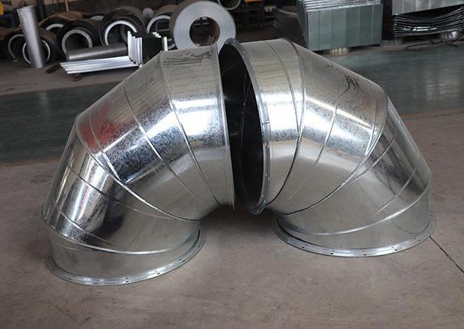 圆弯头风管(图09)